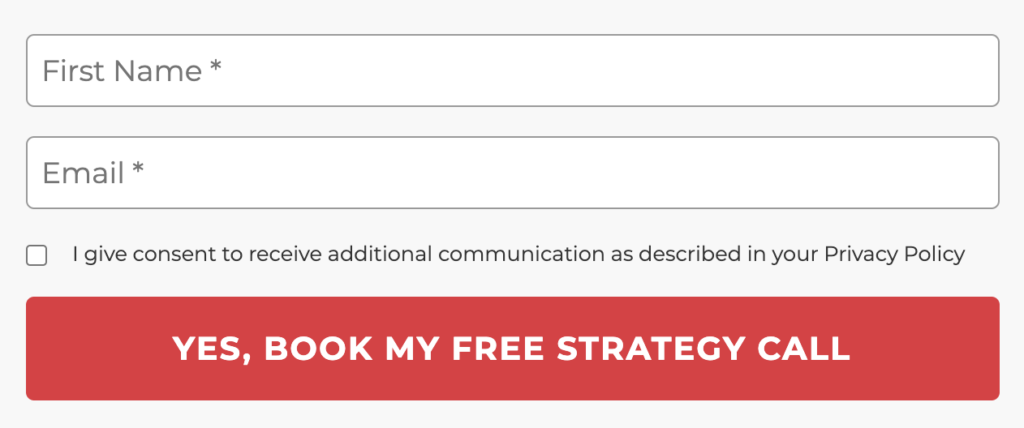 Yes, Book my free strategy call
